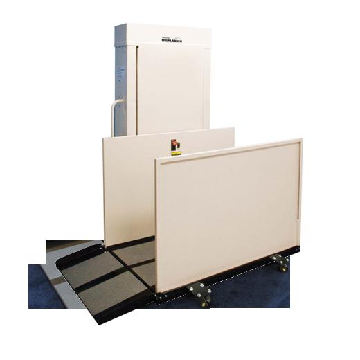 Harmar CPL400P Portable Vertical Platform Lift Outline