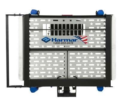 Harmar AL300HD Outside Lift Folded